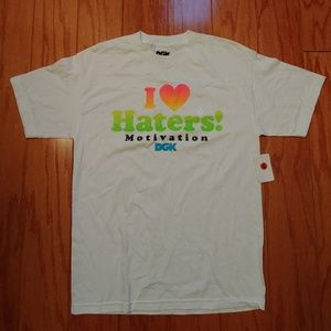 DGK I love Haters Mens Graphic Tee